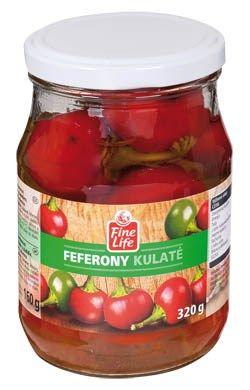 Feferony Kulaté - Feferonikugeln