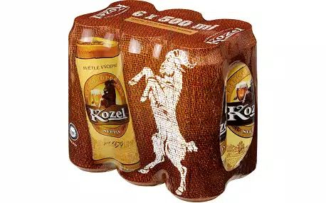 Kozel svetly - 6er Pack - 1528