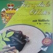 Královské Oplatky - mit Süßholz (Lakritz) - 1755