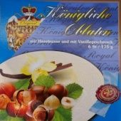 Královské Oplatky mit Vanille-Haselnussgeschmack