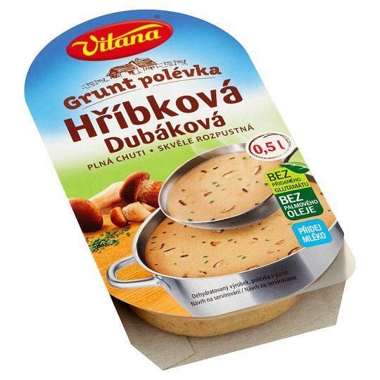 Grunt polévka Hríbková - Pilzsuppe - 1670
