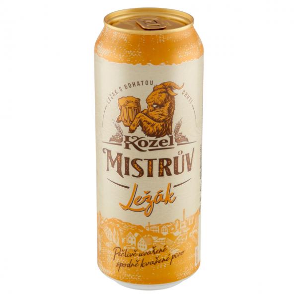 Kozel Mistrův ležák pivo - Lagerbier