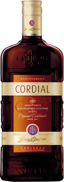 Becherovka Cordial likér 35% - Herzlikör