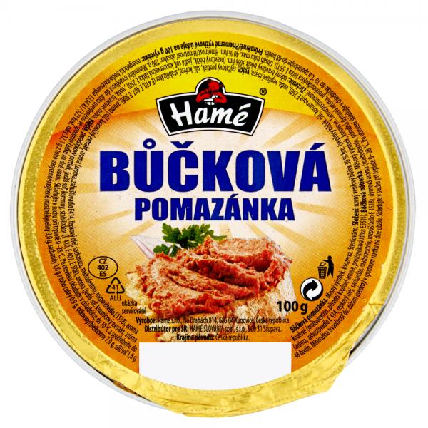 Hamé Bůčková pomazánka - Brotaufstrich - Bucková geräucherter Schweinebauch
