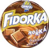 Fidorka Horká Waffeltaler mit Bitterschokolade