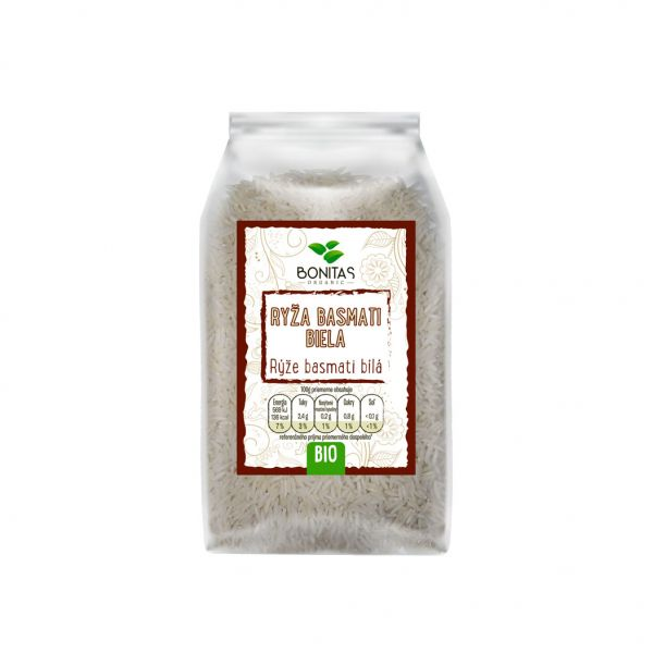 Bonitas Rýže Basmati bílá BIO - Basmati Reis weiß BIO