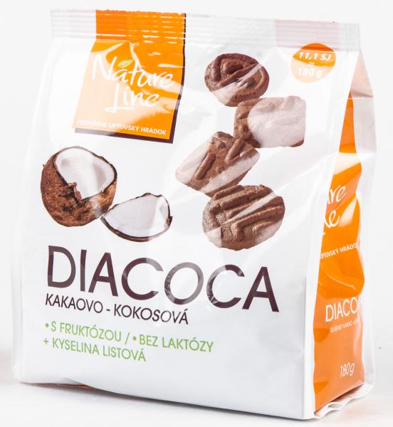 Kakaokekse mit Kokosnuss für Diabetiker