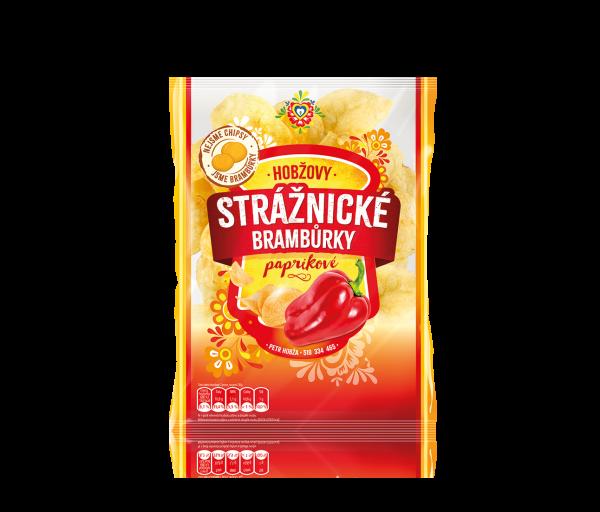 Stráznické Bramburky paprikové - Paprikachips