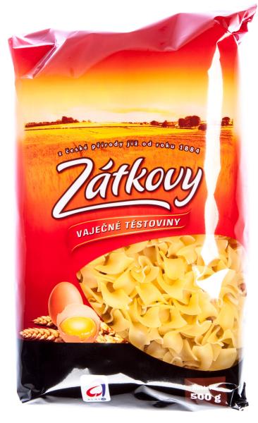 Zátkovy těstoviny Nudle široké vaječné - Eiernudeln