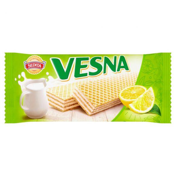 Sedita Vesna citronová oplatka - mit Zitronenfüllung