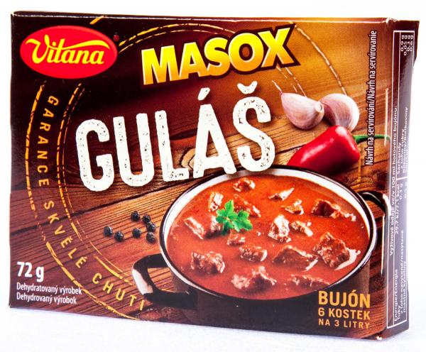 Masox Bujón Gulás - 6 Würfel