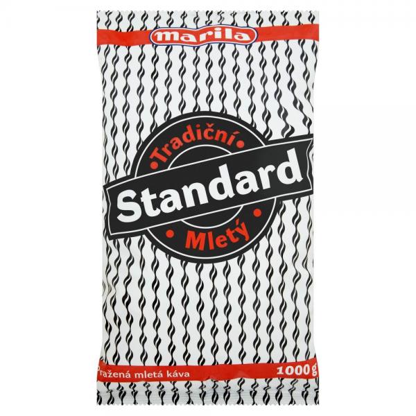 Marila Standard káva mletá 1kg - Gerösteter gemahlener Kaffee