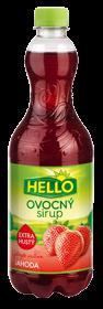 Ovocný Sirup Jahoda Erdbeergeschmack extra dick