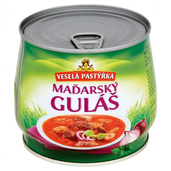 Veselá pastýřka Maďarský guláš - Ungarisches Gulasch