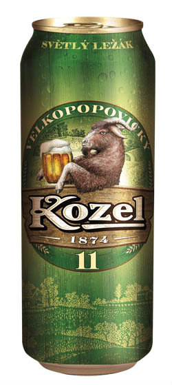 Kozel - Medium 11° - helles Lagerbier - 1509