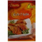 Kure 7 bylin - Würzmischung - Huhn mit 7 Kräutern - 1550