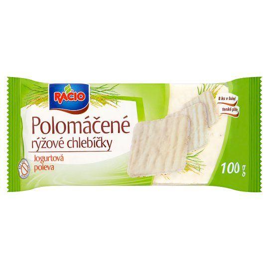 Racio Chlebíčky rýžové s polevou jogurtové - Jogurt - Reiswaffeln
