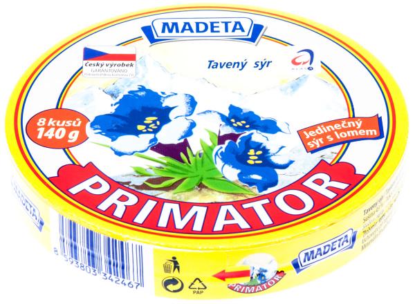 Primátor sýr tavený 45% - Schmelzkäse