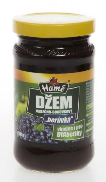 Heidelbeermarmelade für Diabetiker