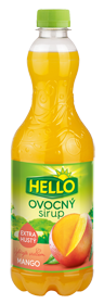 Ovocný Sirup Mangogeschmack extra dick
