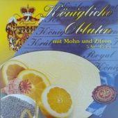 Královské Oplatky - mit Zitrone-Mohn - 1764