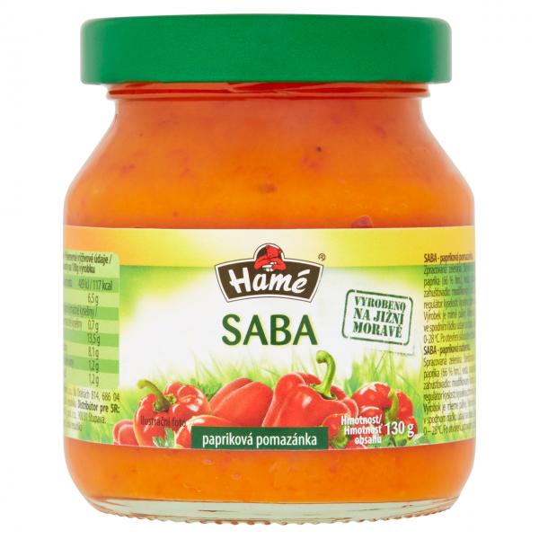 Saba - Paprikacreme - 1694