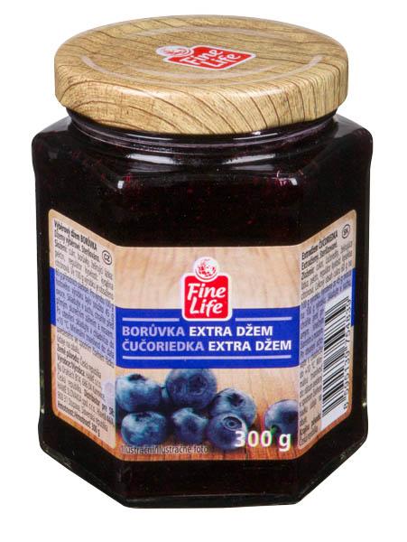 Fine Life Džem výběrový borůvka - Heidelbeermarmelade