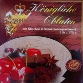 Královské Oplatky mit Kirschgeschmack