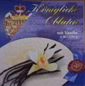 Královské Oplatky mit Vanillegeschmack