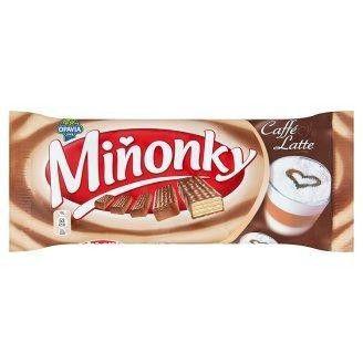 Minonky Caffé Waffeln mit Milch