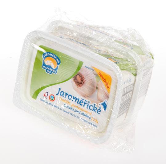 Jaroměřické Tradiční pomazánkové česnek/jarní cibulka - Knoblauch