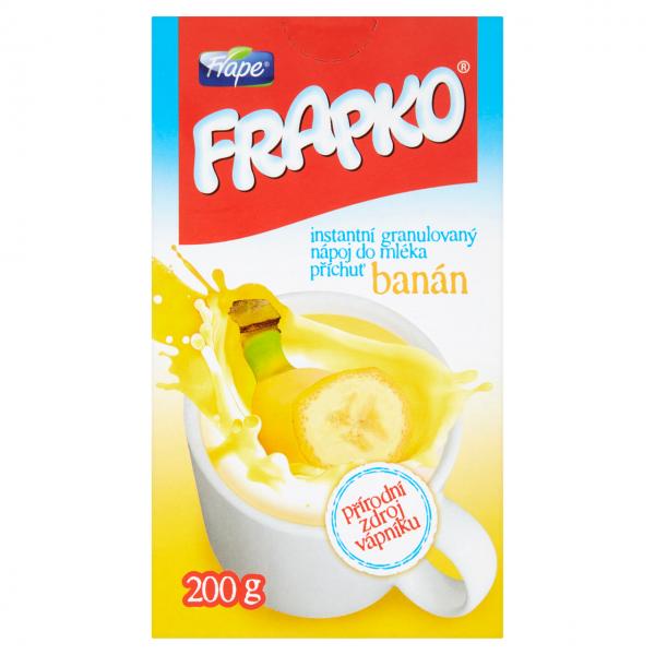 Frape Frapko instantní nápoj banánový s vlákninou - Instant-Bananengetränk mit Ballaststoffen