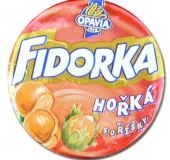 Fidorka Horká s orísky Waffeltaler mit Bitterschokolade und Haselnuss