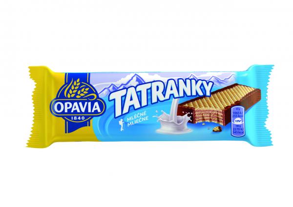 Waffel - Tatranky Milchgeschmack